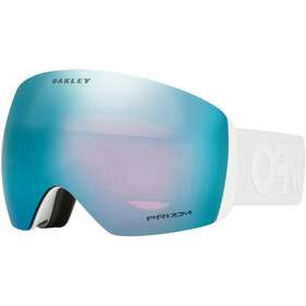 Oakley Flight Deck Lunettes de protection Homme, white/w prizm sapphire iridium